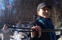 Zimowy trening Nordic Walking