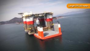 Największy na świecie ciężarowiec Dockwise Vanguard