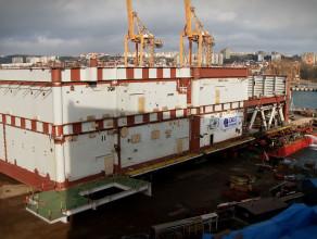 Rekordowy załadunek w stoczni Crist