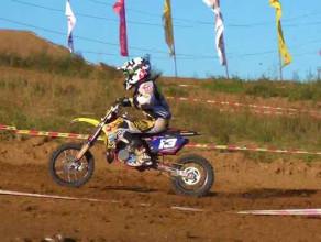 Motocross z Gdańska - Mistrzostwo Polski MX 65 2013