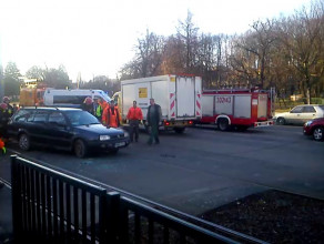 Skutki wypadku na Siedlcach