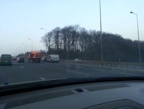 Wypadek Matarnia w stronę Gdyni