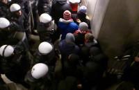 Policja kontra kibice Widzewa Łodź