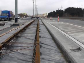 Postępy na budowie linii tramwajowej na Morenę