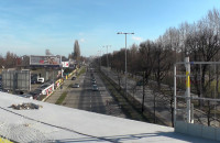 Nowy wiadukt nad al. Grunwaldzką w Gdańsku