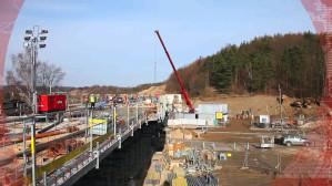 Kronika budowy PKM - zima 2013/2014