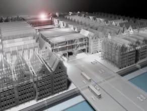 Koncepcja centrum handlowego Gray International na Wyspie Spichrzów