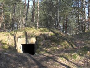Wysprzątane bunkry przy DCT przyciągają spacerowiczów