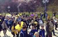 Żonkilowa Parada na Bulwarze w Gdyni