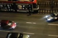 Kolizja na ul. Grunwaldzkiej, auta zablokowały tramwaj
