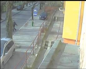 Kradzież anteny CB, Gdynia, ul. Grabowo
