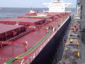 Do gdańskiego portu wpływa statek YUE DIAN z rekordową ilością węgla