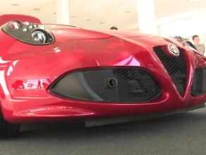Zobacz na żywo Alfę Romeo 4C