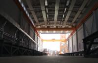 Hala pod budowę niszczyciela min Kormoran II