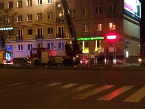 Pożar mieszkania na ul.Władysława IV