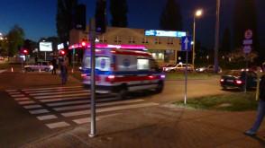 Akcja ratunkowa po wypadku przy Hali Olivia