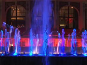 Magiczna fontanna Mololo w Sopocie