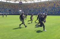 Futbol amerykański na stadionie przy Olimpijskiej
