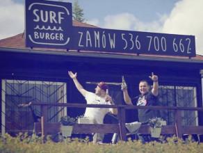 SurfBurger na Morenie - reklamówka