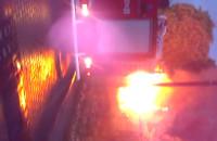 Pożar altanki w Małym Kacku