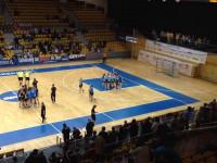 Końcówka meczu Vistal - Pogoń Baltica i radość gdynianek ze zwycięstwa