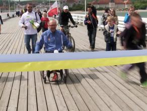 Z Krakowa do Sopotu na wózku inwalidzkim