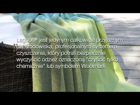 Film pokazujący zalety systemu Lagoon - alternatywy dla tradycyjnych pralni chemicznych.