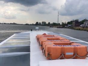 Wyprawa tramwajem wodnym z Górek do centrum Gdańska