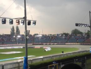 Ulewa nad stadionem