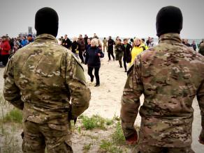 Gdyńskie poruszenie z komandosami
