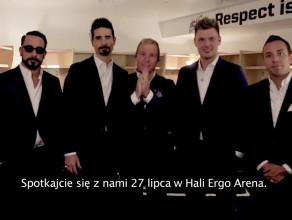 Backstreet Boys zapraszają na koncert