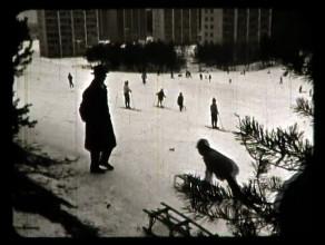 Stary film z gdańskiego osiedla