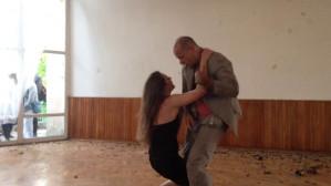 Fragment performance'u Anny i Leona
