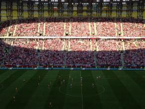 Radość po golu dla Polski