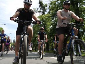 Rowerzyści przejechali przez Trójmiasto - Wielki Przejazd Rowerowy 2014
