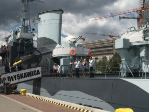Szanty na Błyskawicy w Gdyni