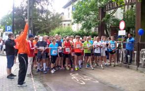 Start biegu na Jaśkowej Dolinie