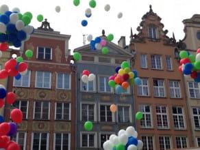 Balony nad Gdańskiem
