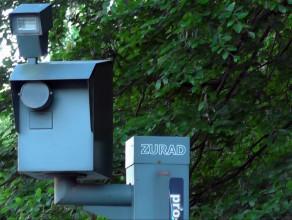 Demontaż atrapy fotoradaru na ul. Słowackiego