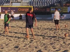 Mistrzowie beach soccera na sopockiej plaży