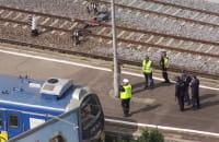 Zablokowany Błędnik, policja na stacji PKP