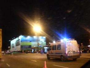 Wypadek przy dworcu głównym w Gdańsku