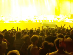 Mosh pit na Faith No More - Open'er Festival 2014