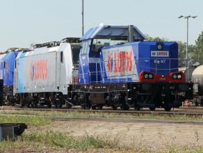 Zmodernizowana lokomotywa Lotos Kolej