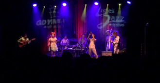 Koncert Monsieur Periné podczas Ladies'Jazz Festival