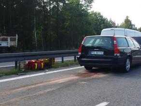 Wypadek trzech aut na obwodnicy