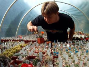 Ma sześć tysięcy kaktusów