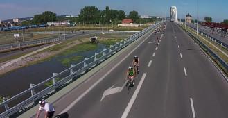 Triathlon Gdańsk 2014 z lotu ptaka