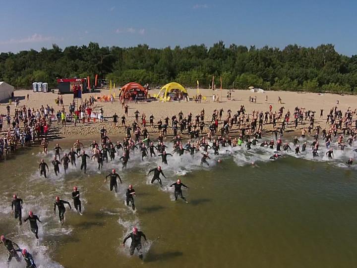 W Triathlonie Gdańsk 2014 wzięło udział 410 osób.