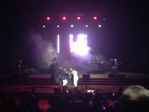 Taniec z fanką na scenie Opery Leśnej